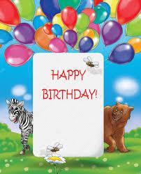happy birthday card happy birthday illustration