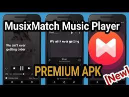musicxmatch apk musixmatch premium apk lyric offline