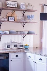 kitchen with shelves no cabinets 6 creative storage solutions for a kitchen with no upper cabinets