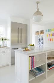 Open Kitchen Island Open Kitchen Island With Shelves Transitional Kitchen