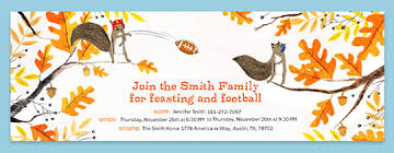 thanksgiving evite