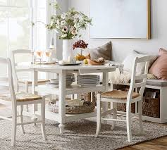 pottery barn kitchen furniture shayne drop leaf kitchen table white pottery barn