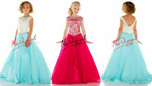 custom elegant little rosie pageant dresses for girls bateau