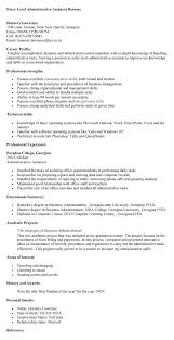 Best Business Resume Entry Level Administrative Assistant Resume Sample Jennywashere Com