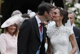 pippa middleton marries at almost royal event washington times
