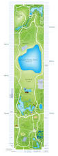 New York City Attractions Map by Central Park New York City