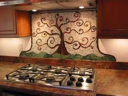 mosaic backsplash kitchen tree of kitchen mosaic styled after gustav klimts tree of