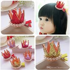 children s hair accessories 100pcs lot colored crown hair