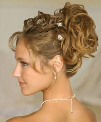 prom hairstyles curly updos for short hair 2017