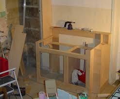 construire une cuisine cuisine une cuisine sur mesure en contre plaquã jolis copeaux