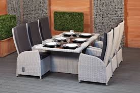 Rattan Patio Dining Set Protect Resin Wicker Dining Chairs Dans Design Magz