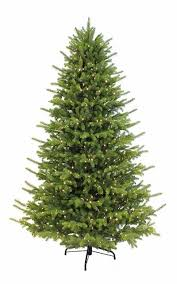 7 5 ft pre lit artificial meriden fir tree 1200 micro