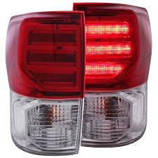 Tundra Led Lights Anzo Usa Toyota Tundra 07 13 L E D Tail Lights Red Clear G2