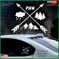 pnw sticker decal pacific northwest custom graphic choose
