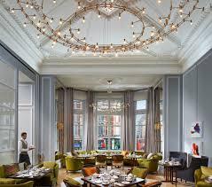 mandarin oriental hyde park luxury hotel in london england