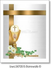 communion invitation print of holy communion invitation background barewalls