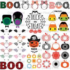 halloween bundle halloween pumpkins monogram frames svg cricut