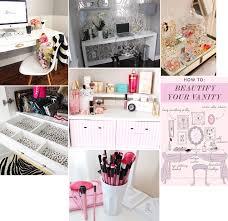 Decorer Sa Chambre by Lilia Inspirations Rangement Maquillage Et Chambre 2