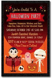 Halloween Costume Party Invitations Halloween Party Invitations