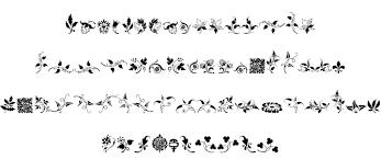fleurons by intellecta design free font typoblur2 ven bz