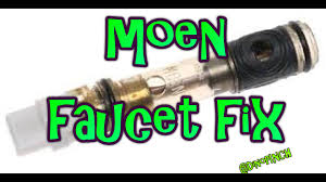 Parts For Moen Kitchen Faucets by Single Handle Moen Faucet 1225 Cartridge Youtube