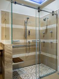 A1 Shower Door Frameless Sliding Shower Door Hardware With Return Panel Shower