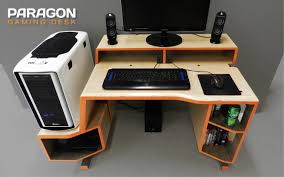 Desk Gaming Furniture Wooden Gaming Desk Remodel Ideas Trend Awesome 25 On