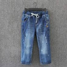 popular denim capri pants buy cheap denim capri pants lots from