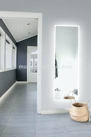 full length lighted wall mirrors full length mirror with lights astounding design wall mirrors cheap