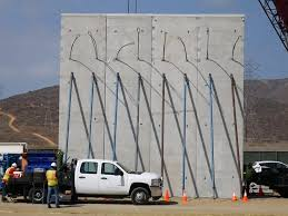 What Are Walls Made Of Prototypes Of Trump U0027s Border Wall Are Being Built Business Insider
