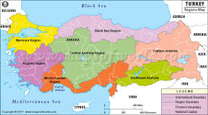 geography map map of turkey geographical regions geography of turkey