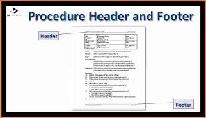 standard operating procedure template word sop template doc jpg
