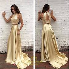 gold maxi dress gold sequin bodice two tone halter cutout back maxi dress