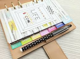 your own planner happiness is scrappy planners how to make your own rainbow