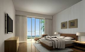 Modern Simple Bedroom Simple Bedroom Design With Modern Interior And Nice Curtains