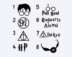 hogwarts alumni bumper sticker harry potter wall decal quote happiness can be found even