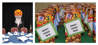 basketball party table decorations basketball party decor favors