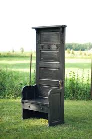 Sister Company Of Bench Old Door Made Into The Perfect Bench For An Entry Way Or Mud Room