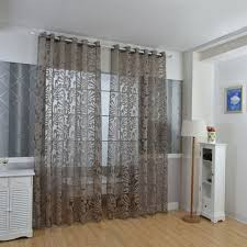 Curtains Home Decor High Quality Multi Colors Semi Blackout Sheer Curtains Panel