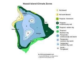 Map Of Hawaii Big Island Til The Big Island Of Hawaii Has 10 Of The World U0027s 13 Climatic
