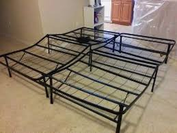 Platform Metal Bed Frame Mattress Foundation Sleep Master Bed Frame Sleep Master Elite Platform Metal Bed