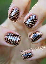 cute nail designs with tape beauty pinterest nail art cute