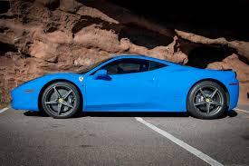 rent a 458 458 italia mile high drives