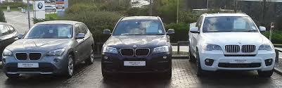 xbimmers bmw x5 x1 x3 x5 side by side