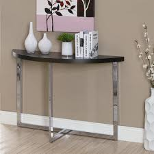 half moon console table with drawer half moon entry hallway tables lowe s canada