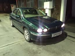 2003 03 jaguar x type 2 5 v6 se manual saloon fjsh 1 doctor owner