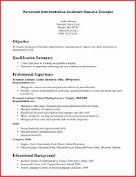 administrative assistant resume resume summary for administrative assistant therpgmovie