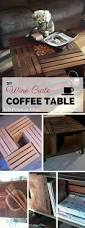Wine Crate Coffee Table Diy by Diy Rusting Home Decor Ideas To Beautify Your Home