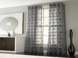 White Contemporary Curtains Decoration How To Make Your Own Curtains For Your Home