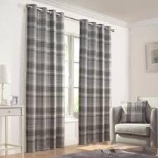 Grey Plaid Curtains Image Result For Grey Tartan Curtains Homes Pinterest Tartan